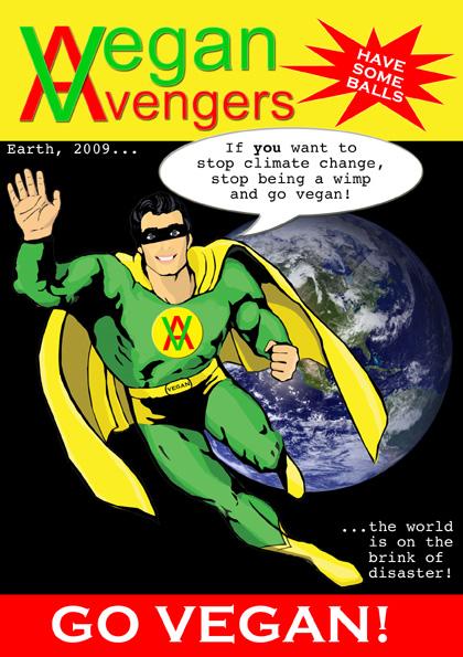 vegan avengers